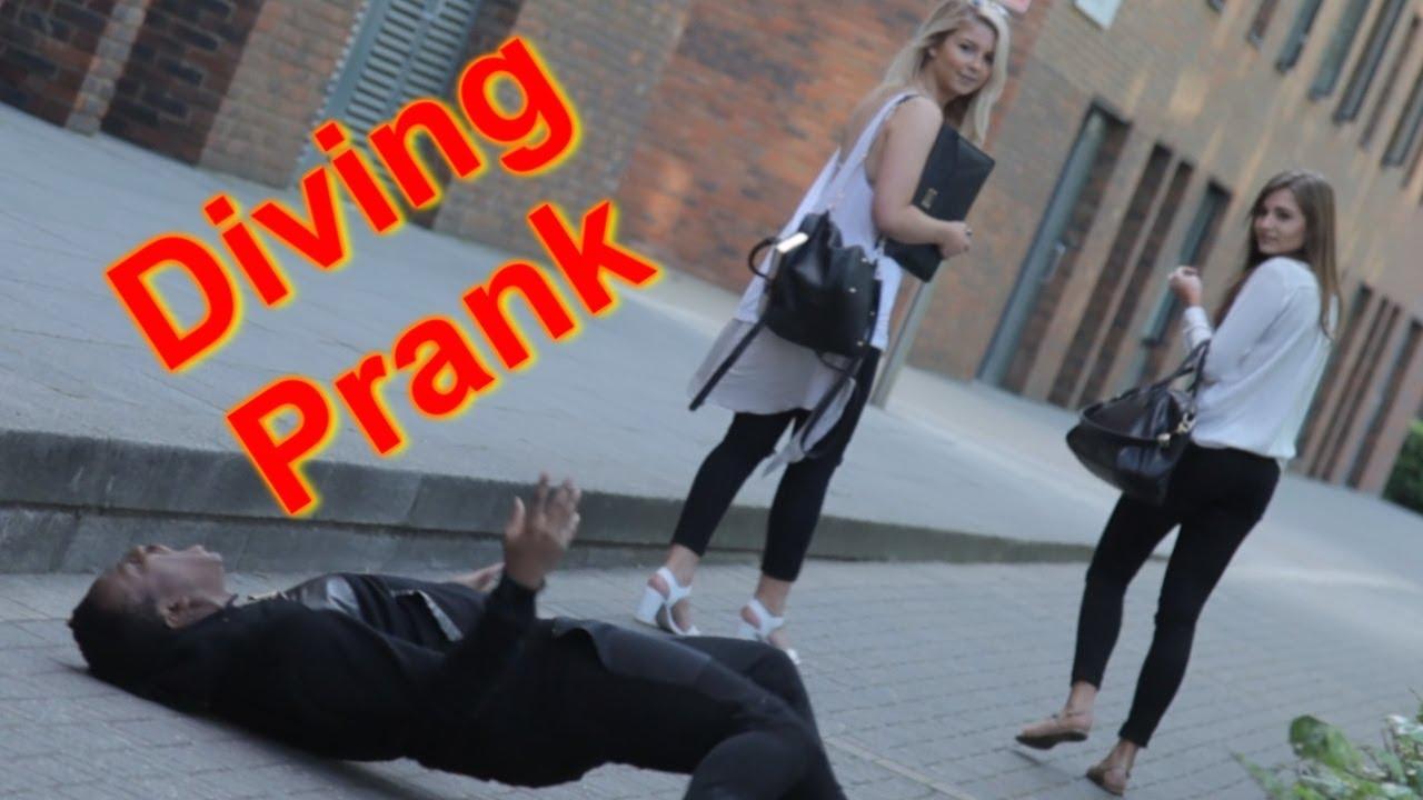 DIVING PRANK  YouTube