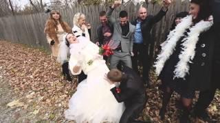 Самый весёлый свадебный клип 2014 года!!! (Антон и Юля)