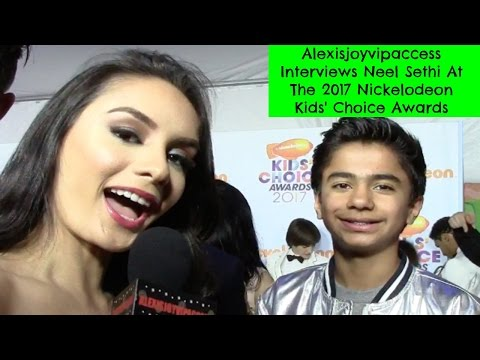 The Jungle Book's Neel Sethi Interview With Alexisjoyvipaccess - 2017 KCA