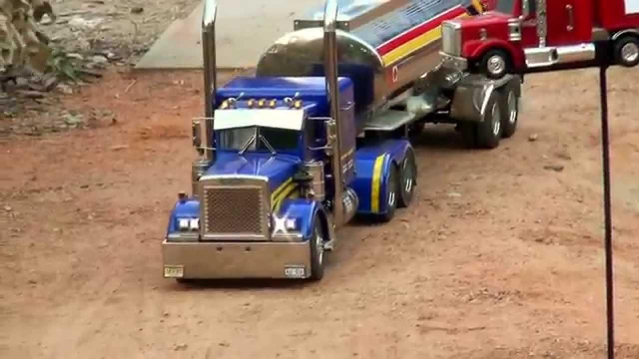 Tamiya New 1/14 Grand Hauler Tractor Truck - YouTube