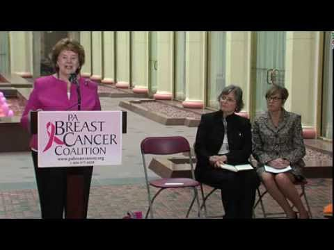 First Lady Frances Wolf's Remarks at the Pennsylvania Breast Cancer Coalition Pink Fountain Event