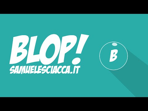 Blop su Google Play!! + Speed Coding