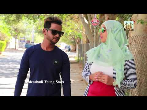 Hyderabadi Beauty Girl Teasing Song Ilyas || Directed By Ilyas Funny Comedy  Hyderabadi Young Stars