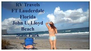 RV Travels~ John U. Lloyd Beach State Park in Ft. Lauderdale Florida