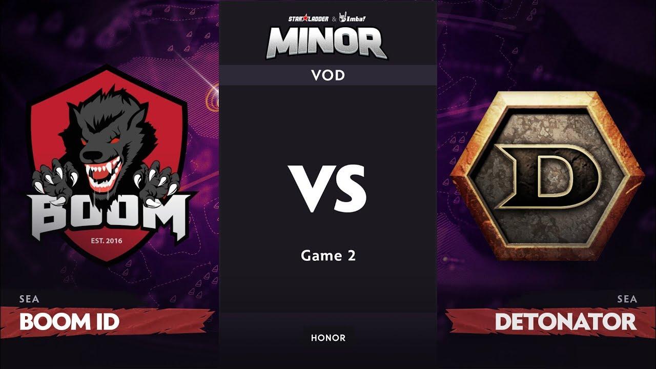 [RU] BOOM ID vs DeToNator, Game 2, SEA Qualifier, StarLadder ImbaTV Dota 2 Minor