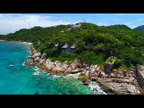 View Point Resort, Koh Tao — Aerial Video