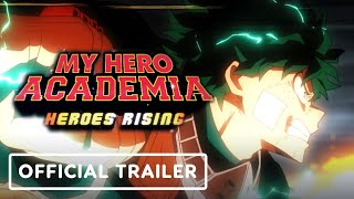 My Hero Academia: Heroes Rising - Official Movie Trailer (English Dub)