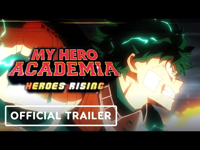 Watch The First English Dubbed My Hero Academia Heroes Rising Trailer Is Here When In Manila