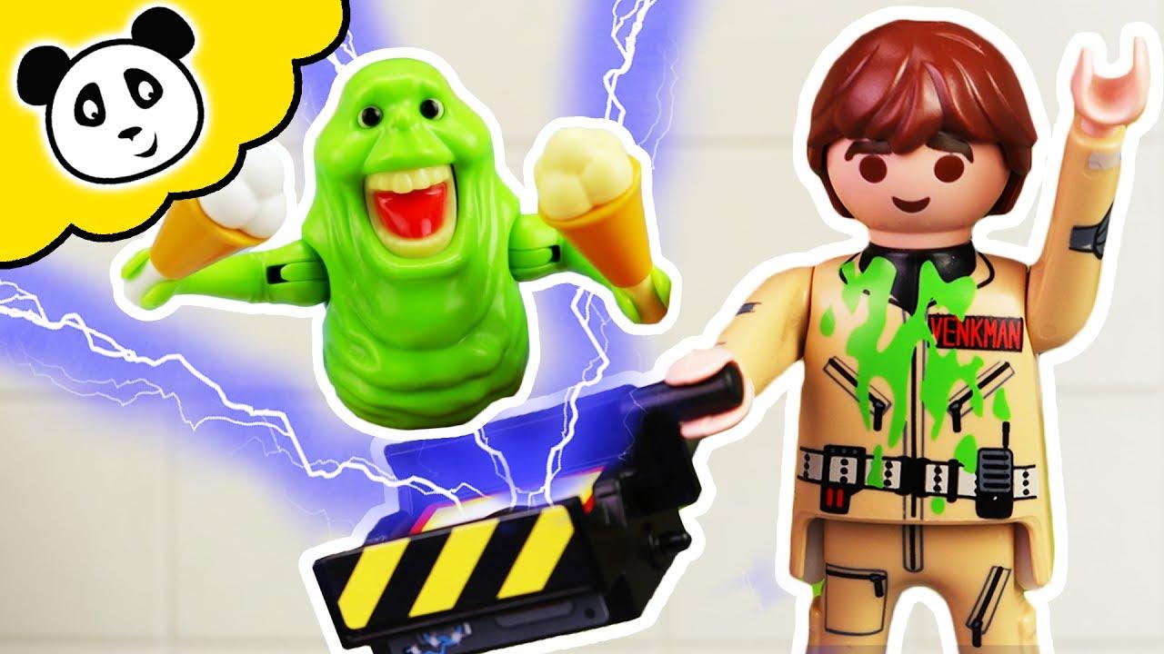 Playmobil Ghostbusters Geisterjagd Im Shoppingcenter Playmobil