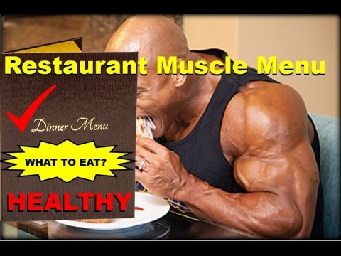 Restaurant Food for Muscle Building   How to Order Healthy