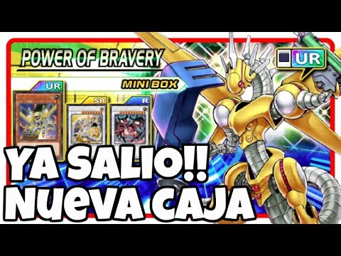 Comprando Nueva Caja Power of Bravery | Yu-Gi-Oh! Duel Links