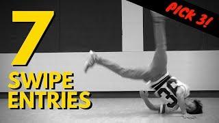 7 Bboy Swipe Entries