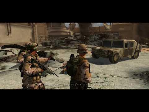 Full spectrum warrior playthrough part 17 - LOL  