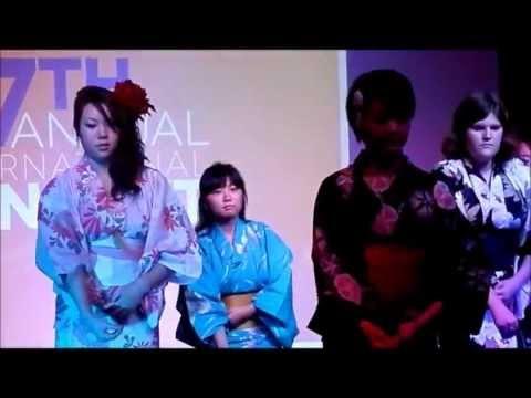 Japan Fashion Show / Yukata/ EKU International ISA 2012