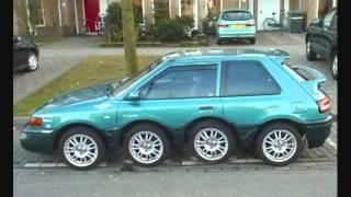 Śmieszne samochody - Funny car - Epic tuning