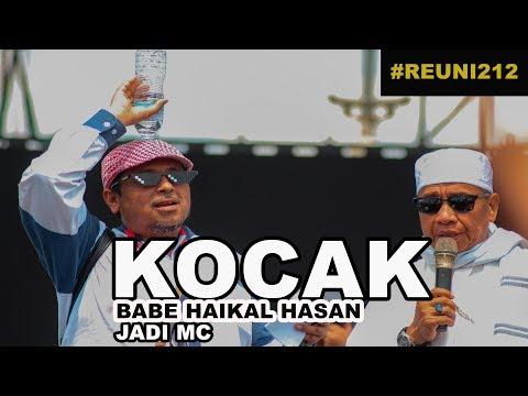 KOCAK NGAKAK, BABE HAIKAL HASAN JADI MC DI REUNI 212 |HD|