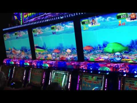 Aruze paradise fishing slot machine