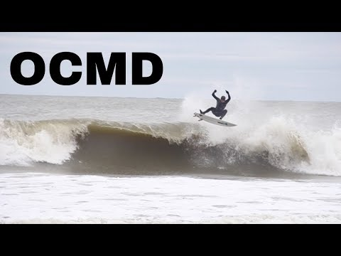 Winter Surfing In Ocean City, Maryland (1/13/18)