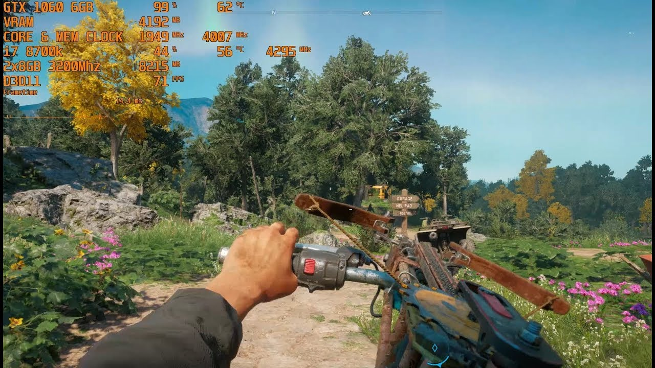 Far Cry: New Dawn - Max Settings - GTX 1060 6GB | i7 8700k (stock) [1080p]