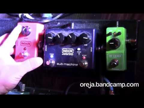 MXR Sub Machine Review/Demo