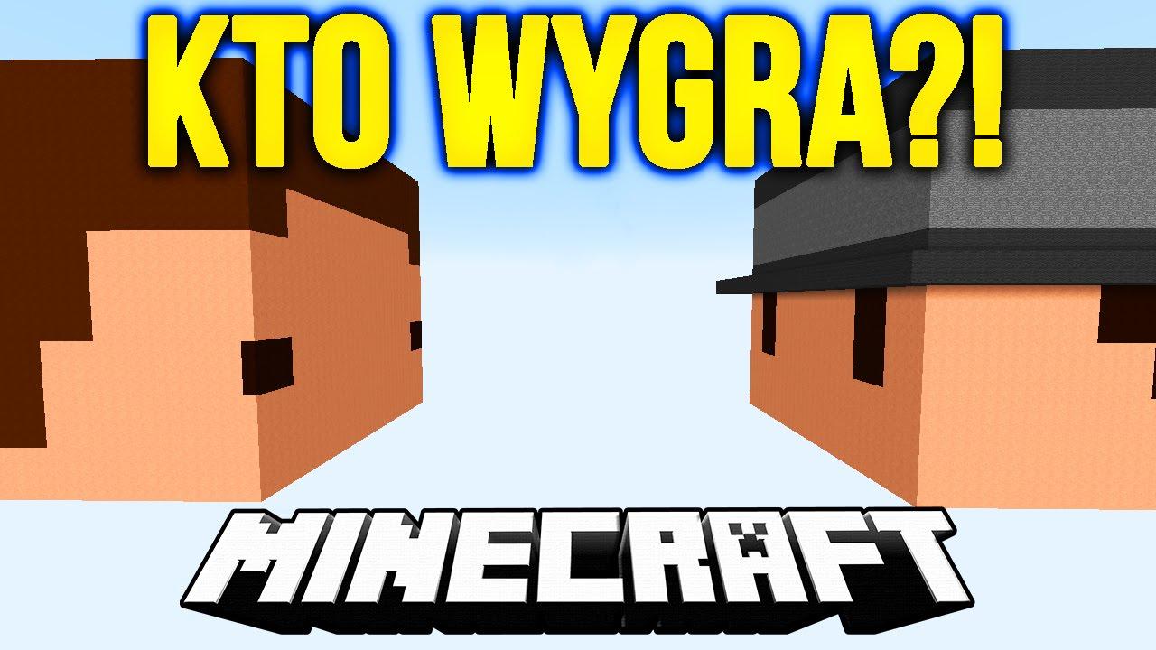Minecraft Pojedynek Dealer Vs Mwk Youtube