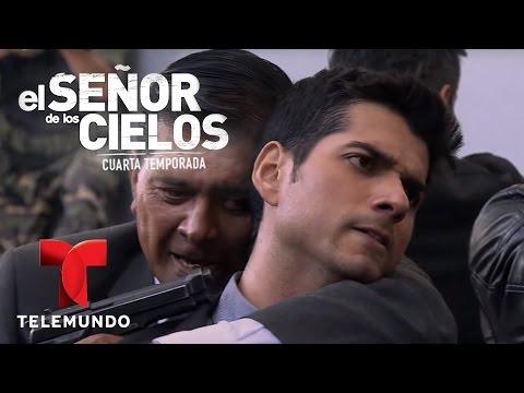 El Señor de los Cielos 4   Carreño es eliminado por Rodrigo y García   Telemundo Novelas