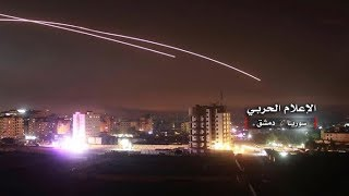 Israel strikes Iranian targets in Syria after 'rocket barrage' | ITV News