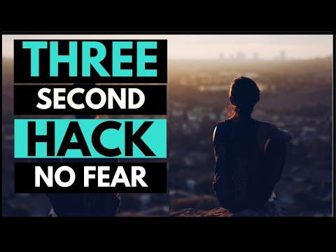 How to Overcome Fear and Anxiety in Under 3 Seconds (MUST WATCH)