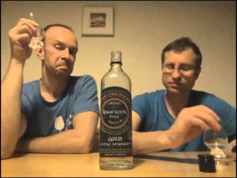Tasting Knockeen Hills Gold Extra Strength Poteen 80% (160 US Proof.)