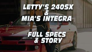 LETTY'S 240SX & MIA'S INTEGRA