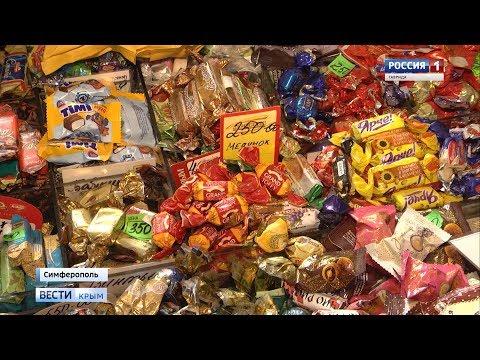 Откуда цукерки: на крымских прилавках продают конфеты