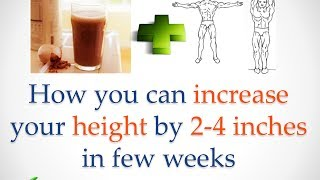 learn how to increase height up to 4 inches by following this exercices
