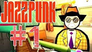 Jazzpunk - 1 - Hemmelig agent [Danish]