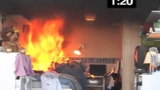 Bedroom Fire Test
