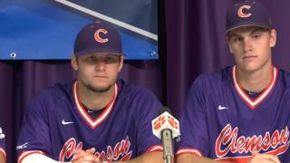 Clemson Baseball // Lee, Okey, Beer, Krall - 6/2/16