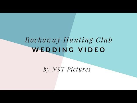 Rockaway Hunting Club Wedding Video - NST Pictures - NY Wedding Videographer