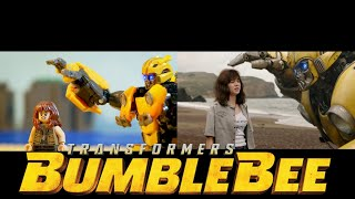 BUMBLEBEE in LEGO TRAILER - SIDE BY SIDE Version - Transformers Stop motion