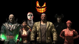 Mortal Kombat X - Halloween Pack 2 Costumes / Skins *PC Mod* (1080p 60FPS)