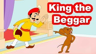 Smart Mouse & King the Beggar | Funny Stories and Rhymes | Animated Stories by Jingle Toons