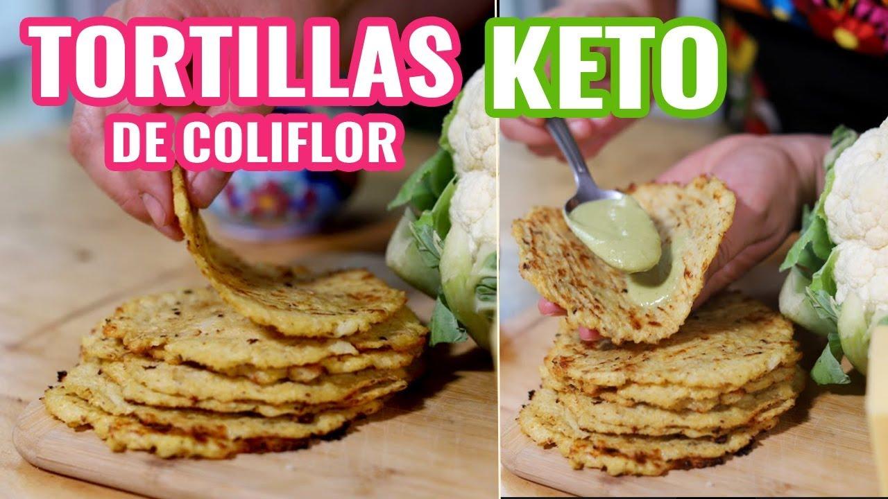 como hacer tortillas para una dieta keto