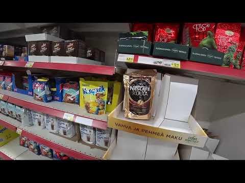 Поездка в Финляндию. Цены в супермаркетах на 2019 год. Сентябрь.