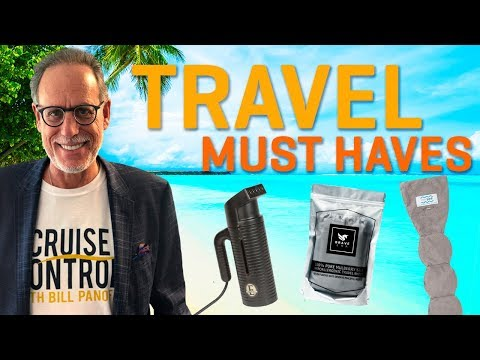 Must Have Travel Gear | Top 3 Travel Products | Jiffy Travel Steamer, Nod Pod, Brave Era