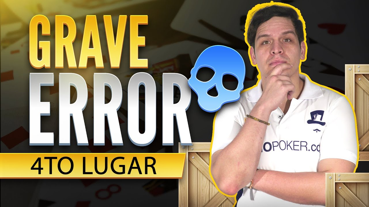 ¿Como perdi una mesa final? Grave error en el poker #Pokercoach #poker