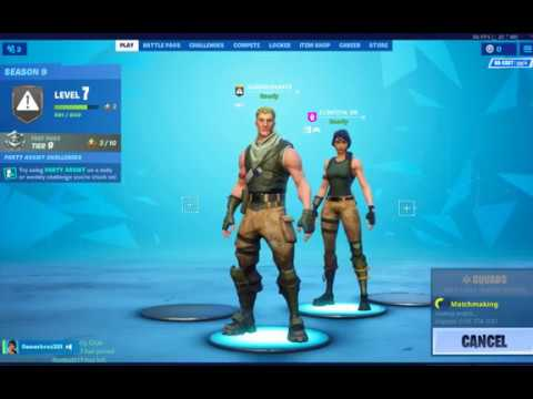 our-1st-fortnight-video-girl-has-fun-with-defult-skin-#not-clickbait