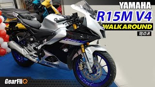 Download Yamaha R15M & V4 - First Look | Features, Variants, Price, Comparison with R15 V3 | Hindi | GearFliQ
