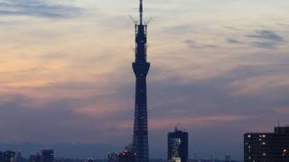 東京スカイツリー建設の定点観測動画です。 2011年3月18日午後1時34分に...