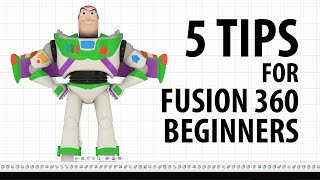 5 TIPS for Getting Started in Fusion 360