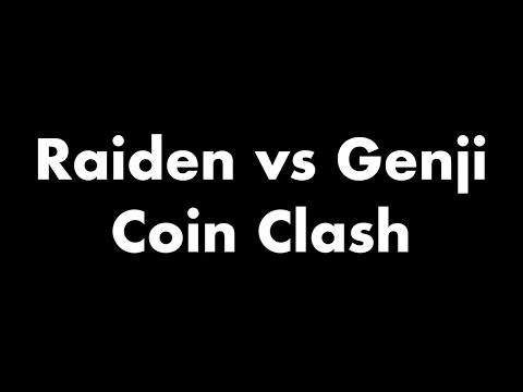 Raiden vs Genji! Coin Clash! Cartoon Fight Night