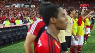 Flamengo 2 x 0 Atlético PR - Final Copa do Brasil - Os gols e os minutos finais