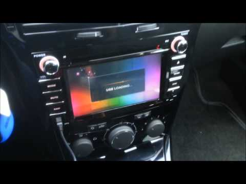 Installation guide for eonon car dvd gps d5156 opel vau for Astra h tablet install